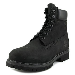 Timberland 6-inch Premium Waterproof Men Round Toe Leather Black Boot