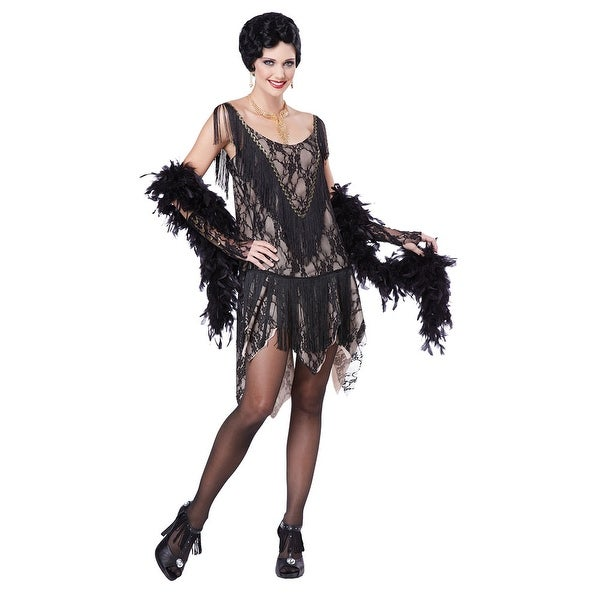 Womens Gatsby Gal Flapper Halloween Costume