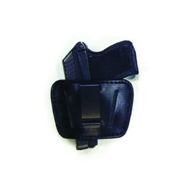 PSP Small-Medium Auto Slide Black Leather Holster