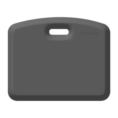 WellnessMats Anti-Fatigue Garage/Gardening Companion Mat, 18 Inch by 22 Inch, Gray