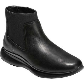 Cole Haan Women's 3.ZEROGRAND Waterproof Chelsea Boot Black Waterproof Leather