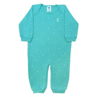 Baby Jumpsuit Unisex Long Sleeve Polka Dot Pulla Bulla Sizes 0-18 Months|https://ak1.ostkcdn.com/images/products/is/images/direct/1908e8b5a48f57db4b6f5318cf28598b37ddbc89/Pulla-Bulla-Baby-polka-dot-long-sleeve-romper-ages-0-18-Months.jpg?impolicy=medium