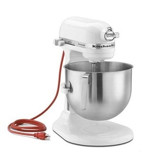 KitchenAid Commercial - KSM8990WH - 8 qt White Commerical Stand Mixer