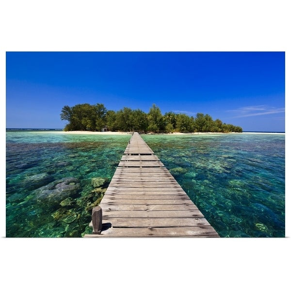 Shop Poster Print Entitled Marine National Park Karimunjawa Or