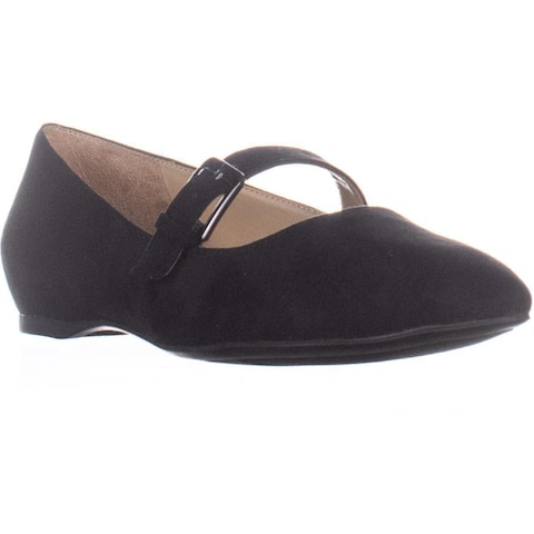 naturalizer Truly Mary Jane Flats, Black Fabric
