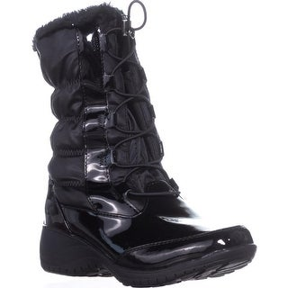 Khombu Bella Waterproof Winter Boots, Black