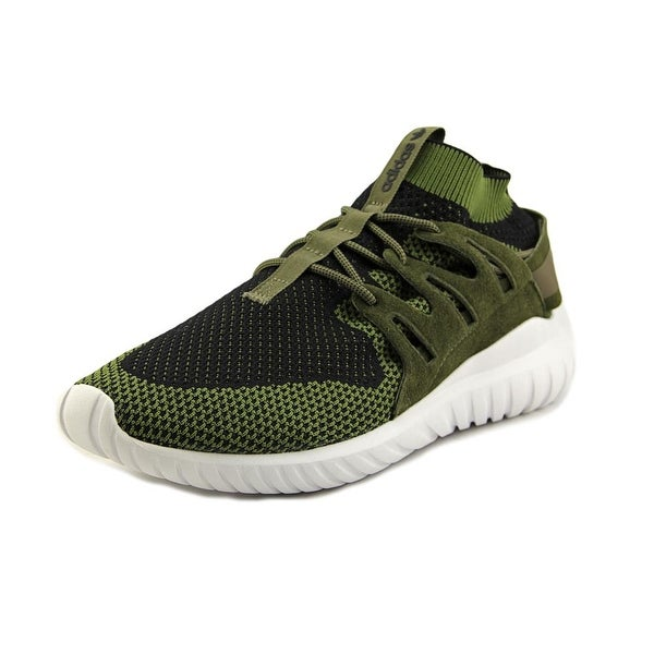 Adidas Tubular Nova Pk Men Round Toe Synthetic Green Sneakers