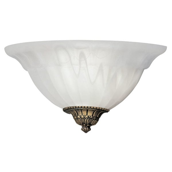 Designers Fountain 6021-AST 1 Light Wall Sconce with Scavo Glass and Accent Caps - assorted finishes of caps