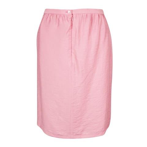 Anne Klein Women's Duppioni Skirt - Petal - 8