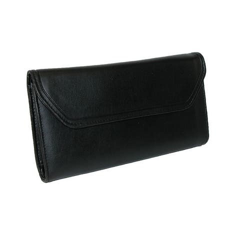 Buxton Women's Checkbook Clutch Wallet with Calculator - one size