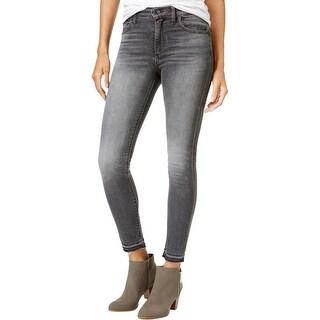 Lucky Brand Womens Bridgette Skinny Jeans Skinny Frayed Hem