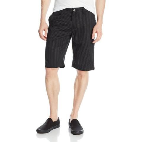 Fox Men's Fox Men's Essex Pinstripe Shorts, Black, 33W/ 22L