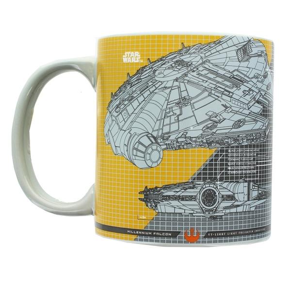 Star Wars Millennium Falcon Tech 20oz Ceramic Mug - Multi