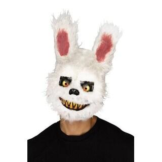 Fun World Killer Bunny Adult Mask - White