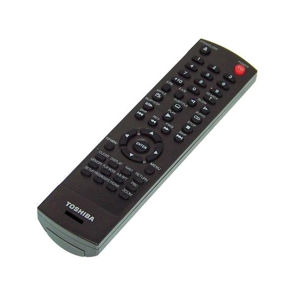 OEM Toshiba Remote Control Originally Shipped With: SD7200, SD-7200