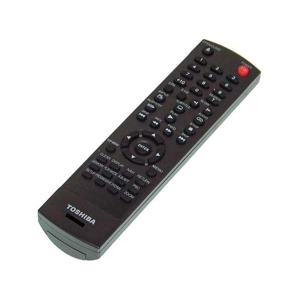 OEM Toshiba Remote Control Originally Shipped With: SD7200KU, SD-7200KU, SDK980K, SD-K980K, SDK990, SD-K990