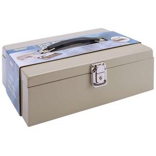 """Metal Locking Cashbox 11""""X4""""X7.75""""-"""
