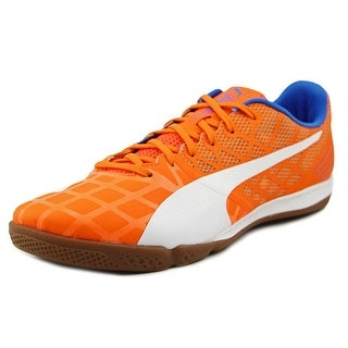 Puma Evo Speed Sala 3.4 Men Round Toe Synthetic Orange Cross Training