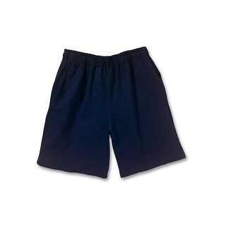 Hanes Boy's Jersey Short - Size - M - Color - Navy