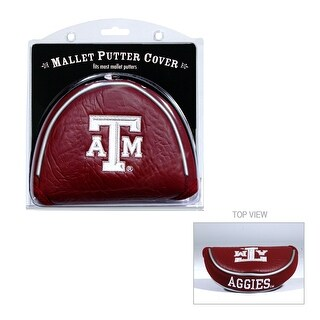 Texas A&M University Mallet Putter Cover