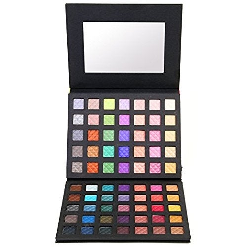 Ivation Explorer Eyeshadow Eye Shadow Palette Makeup Kit Set (70 Colours)