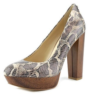 Guess Padey 2 Round Toe Leather Heels
