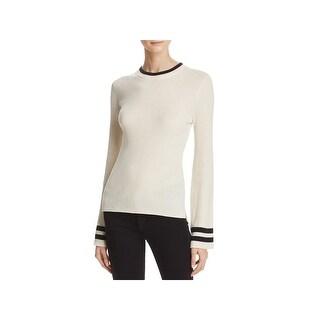 Frame Shirt Womens Sweater Wool Blend Bell Sleeves - M