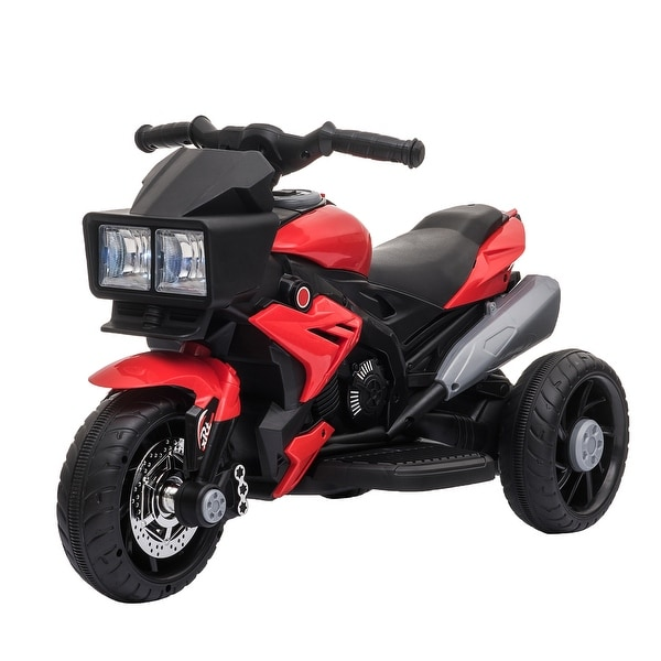 Aosom Kids Electric 6V Ride-On Motorcycle with Working Horn and Headlights for Boys and Girls 3-8 Years Old. Opens flyout.