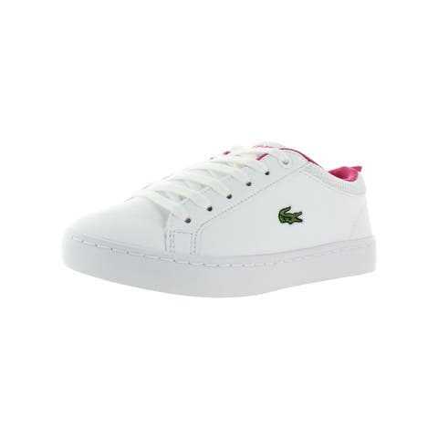 Lacoste Girls Straight Set 119 1 Casual Shoes Little Kid Faux Leather