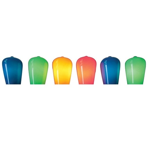 Celebrations 28092-71 Mini Vintage Christmas Incandescent Light Set, Multicolored, 24' L