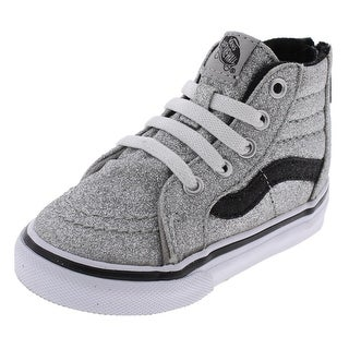 Vans Girls SK8-HI Casual Shoes High Top Sparkly