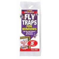 "Jt Eaton 443 ""Stick-A-Fly"" Fly Trap For Windows - Pack 5"