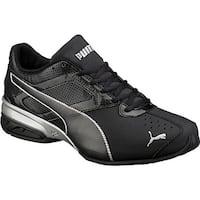 PUMA Men's Tazon 6 FM Sneaker Puma Black/Puma Silver