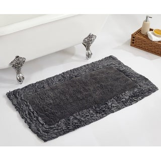 Link to Better Trends Shaggy Border Collection 100% Cotton Tufted Bath Mat Rug Similar Items in Bath Mats & Rugs
