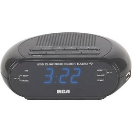 RCA Usb Alarm Clock Radio