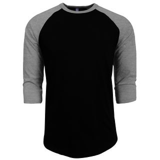 NE PEOPLE 3/4 Sleeve Baseball Tshirt Raglan Jersey Shirt [NEMT06]
