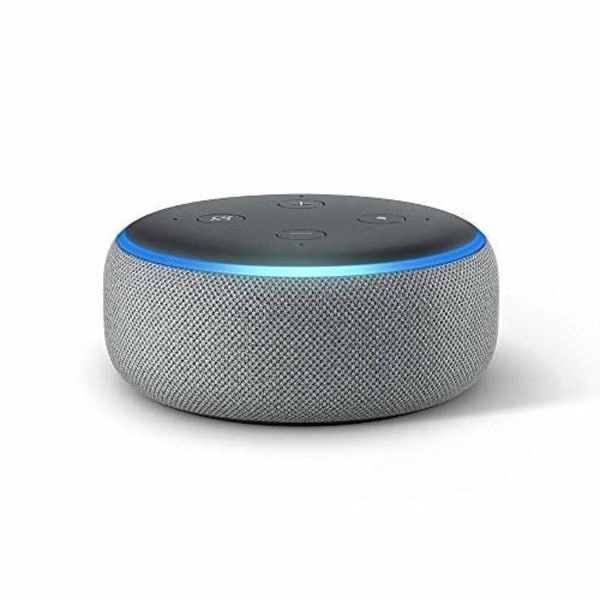 All-new Echo Dot (3rd Gen) – Smart speaker with Alexa – Heather Gray