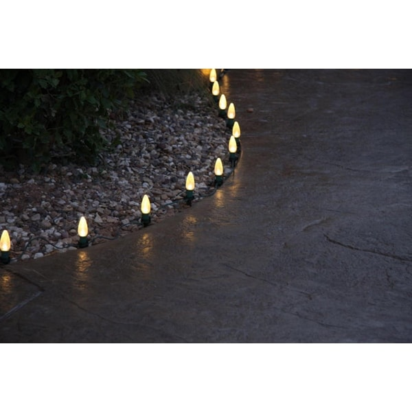 10ct Commercial Grade Outdoor Lawn Speed Stakes for Christmas Lights