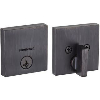 Kwikset 258SQT-S Downtown Low Profile Single Cylinder Deadbolt with SmartKey Technology|https://ak1.ostkcdn.com/images/products/is/images/direct/1920441fe041157dbe722b81d89449cc06ec928d/Kwikset-258SQT-S-Downtown-Low-Profile-Single-Cylinder-Deadbolt-with-SmartKey-Technology.jpg?impolicy=medium