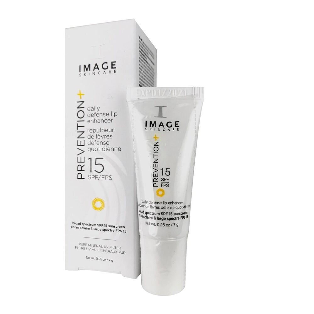 Image Skincare Prevention Plus Daily Defense Lip Enhancer 15 SPF/FPS Sunscreen 0.25 oz (Facial Sunscreen)