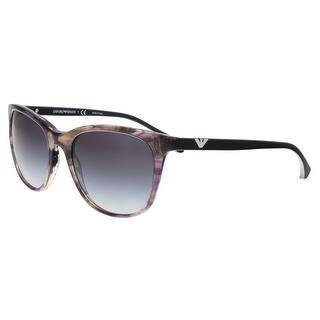addfde5e8da4 Emporio Armani EA4086 55528G Violet Rectangle Sunglasses - 54-19-140