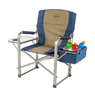 Kamp-Rite Directors Chair with Side Table and Cooler - CC118