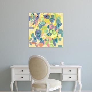 Easy Art Prints Jan Weiss's 'Falling on Water 1' Premium Canvas Art