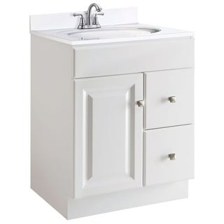 "Design House 545053 24"" Freestanding Single Vanity Cabinet Only"