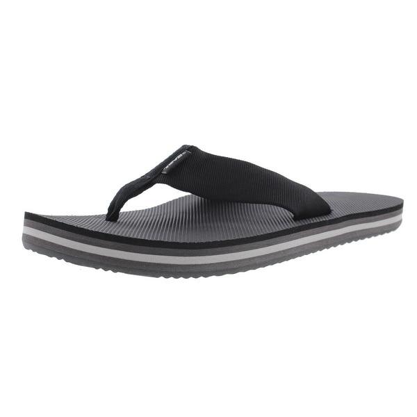 05da4fb37 Shop Teva Mens Deckers Flip-Flops Slide Thong - 8 medium (d) - Free ...