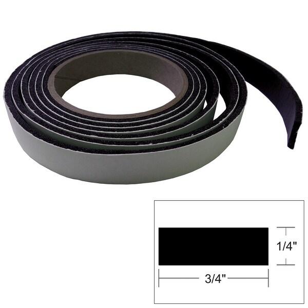 """TACO Hatch Tape - 8'L x ¼""""H x ¾""""W - Black"""