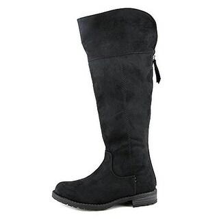 DV By Dolce Vita Girls Salinah Over-The-Knee Big Kid Riding Boots - 1 medium (b,m)