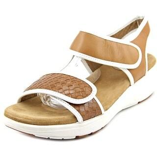 Softwalk Elevate Open-Toe Leather Sport Sandal