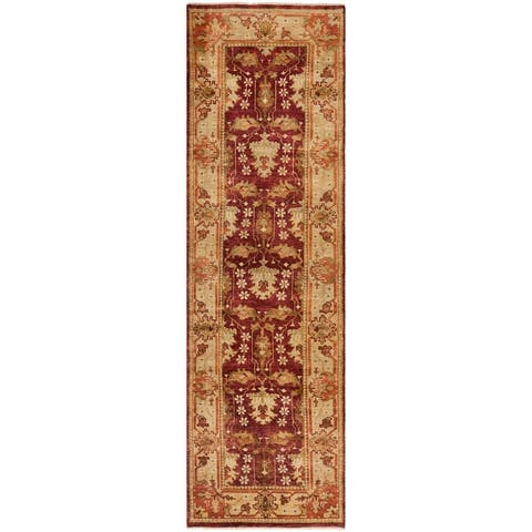 SAFAVIEH Couture Hand-knotted Oushak Irmelinde Traditional Oriental Wool Rug with Fringe