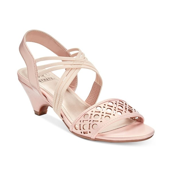 Impo Womens Elora Open Toe Special Occasion Slingback Sandals